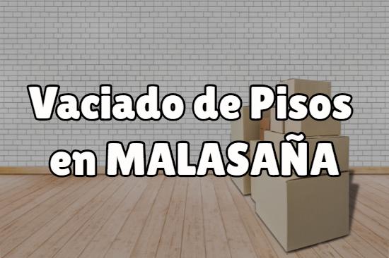 Vaciado de pisos en Malasaña