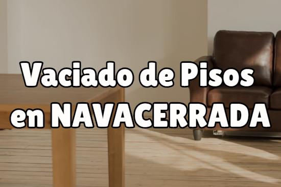 Vaciado de pisos en Navacerrada