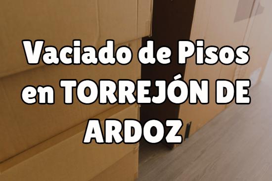 Vaciado de pisos en Torrejón de Ardoz