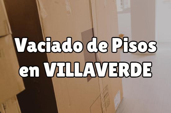 Vaciado de pisos en Villaverde