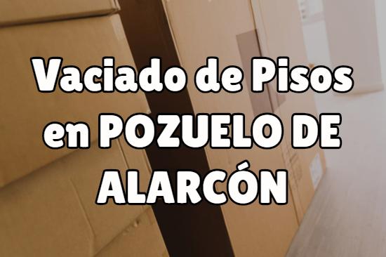 Vaciado de pisos en Pozuelo de Alarcón