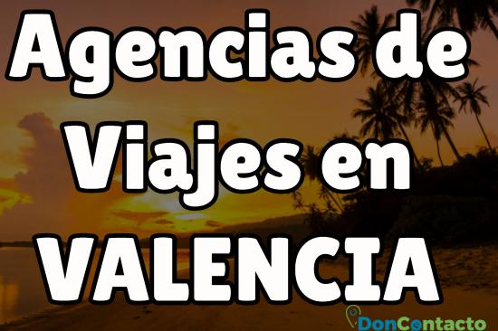 Agencias de viajes en Valencia
