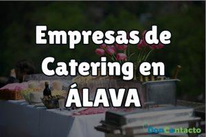 Empresas de catering en Álava