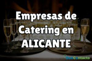 Empresas de catering en Alicante