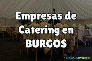 Empresas de catering en Burgos