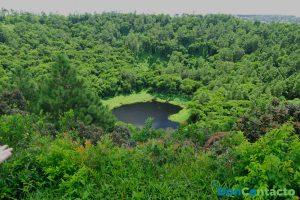 """Cráter """"Trou aux Cerfs"""""""