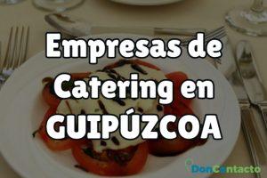 Empresas de Catering en Guipúzcoa