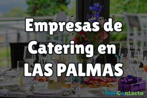 Empresas de catering en Las Palmas