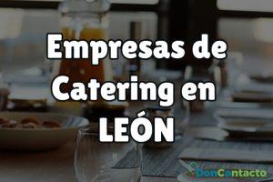 Empresas de Catering en León