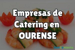 Empresas de Catering en Ourense