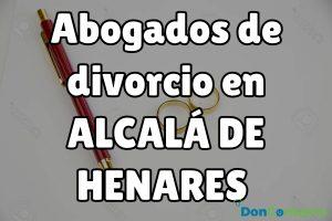 Abogados de divorcios en Alcalá de Henares