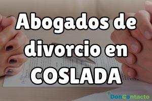 Abogados de divorcios en Coslada