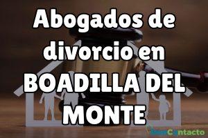 Abogados de divorcios en Boadilla del Monte