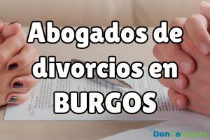 Abogados de divorcios en Burgos