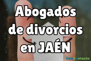 Abogados de divorcios en Jaén
