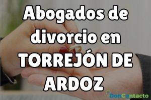 Abogados de divorcios en Torrejón de Ardoz