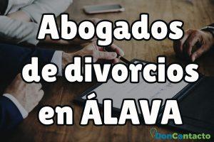 Abogados de divorcios en Álava