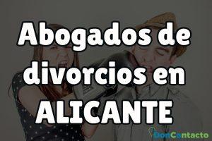 Abogados de divorcios en Alicante