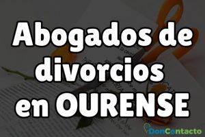 Abogados de divorcios en Ourense