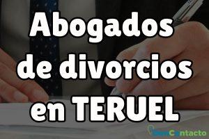 Abogados de divorcios en Teruel
