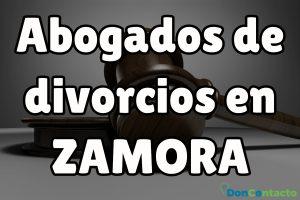 Abogados de divorcios en Zamora