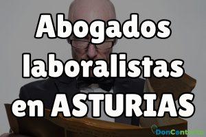 Abogados Laboralistas en Asturias