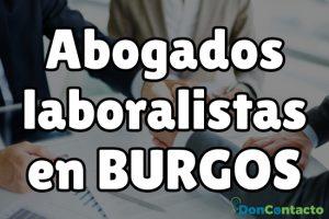 Abogados Laboralistas en Burgos