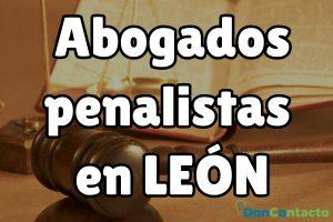 Abogados penalistas en León