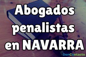 Abogados penalistas en Navarra