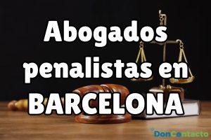 Abogados Penalistas en Barcelona