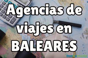 Agencias de Viajes en Baleares