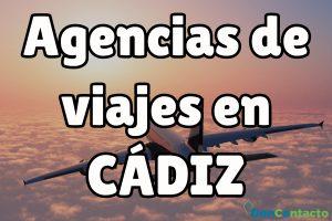 Agencias de Viajes en Cádiz