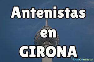 Antenistas en Girona