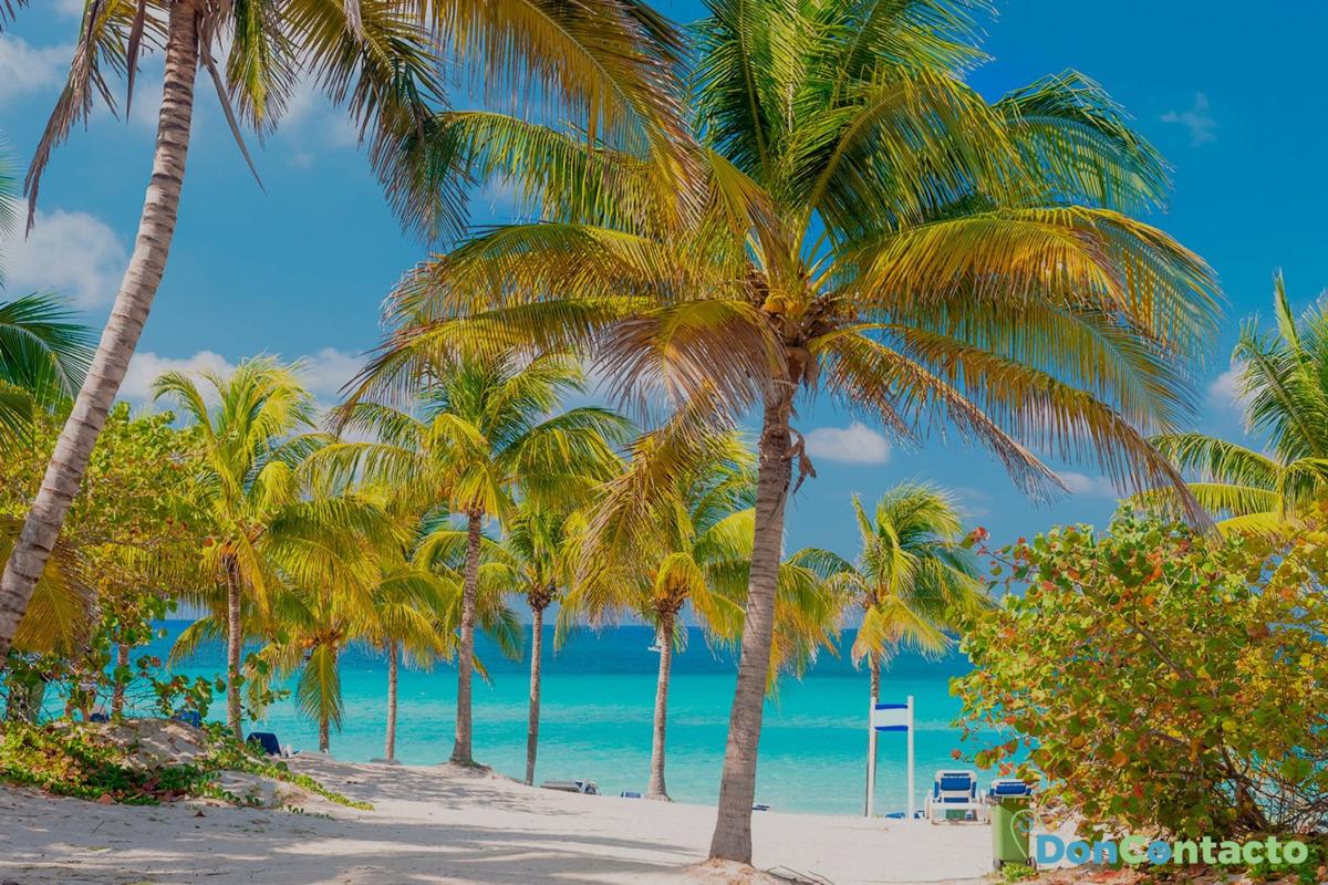 Playas caribeñas en invierno
