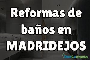 Reformas de baños en Madridejo