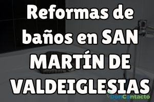 Reformas de baños en San Martín de Valdeiglesias