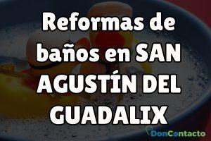 Reformas de baños en San Agustín del Guadalix