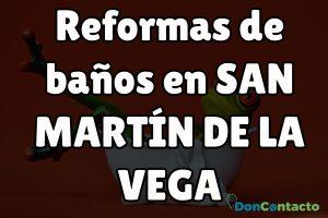 Reformas de baños en San Martín de la Vega