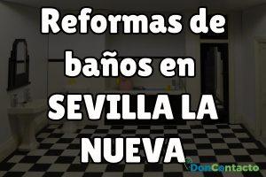 Reformas de baños en Sevilla la Nueva