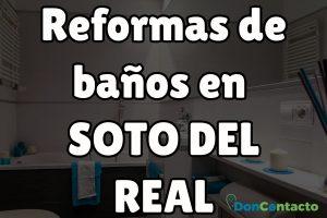 Reformas de baños en Soto del Real