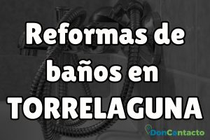 Reformas de baños en Torrelaguna