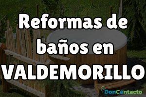 Reformas de baños en Valdemorillo