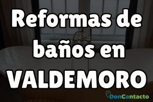 Reformas de baños en Valdemoro