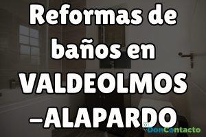Reformas de baños en Valdeolmos-Alalpardo