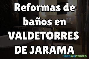 Reformas de baños en Valdetorres de Jarama