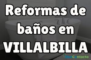 Reformas de baños en Villabilla