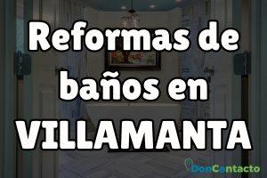Reformas de baños en Villamanta