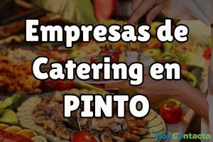 Empresas de catering en Pinto