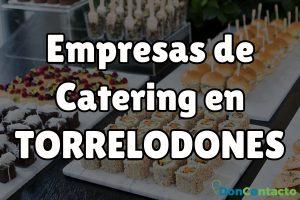 Empresas de catering en Torrelodones