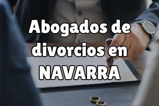 Abogados de divorcios en Navarra